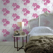 Cascada Fuchsia Wallpaper, , large