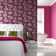 Romance Mulberry Wallpaper, , large