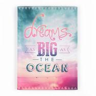 Dreams As Big As The Ocean Printed Canvas, , large