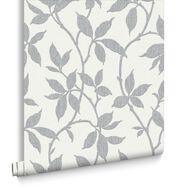 Elisa Soft Grey Wallpaper, , large