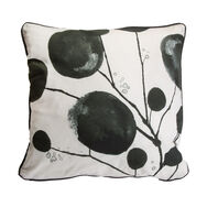 Bloom Honesty Abstract Pillow, , large