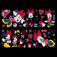 Minnie Mouse Wand-Sticker, , large