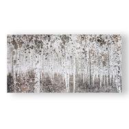Toiles imprimées Forêt aquarelle neutre, , large