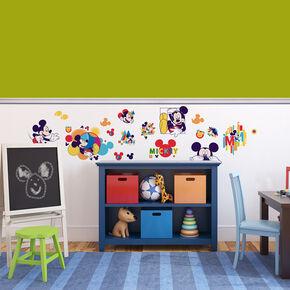 Mickey Wand-Sticker, , large