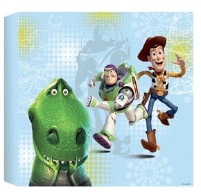Toy Story - Toiles imprimées 30 x 30 cm, , large
