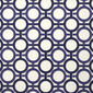 Enigma White and Prussian Blue Wallpaper, , large