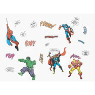 Stickers Marvel pour petit mur, , large