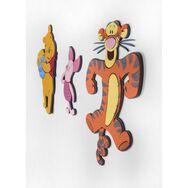 Winnie l'Ourson 3 stickers en mousse, , large