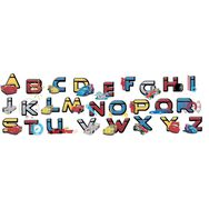 Stickers Alphabet Cars, , large