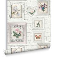 Brick Floral Frames, , large