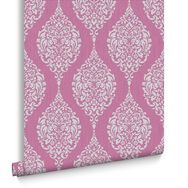 Luna Hot Pink Wallpaper, , large