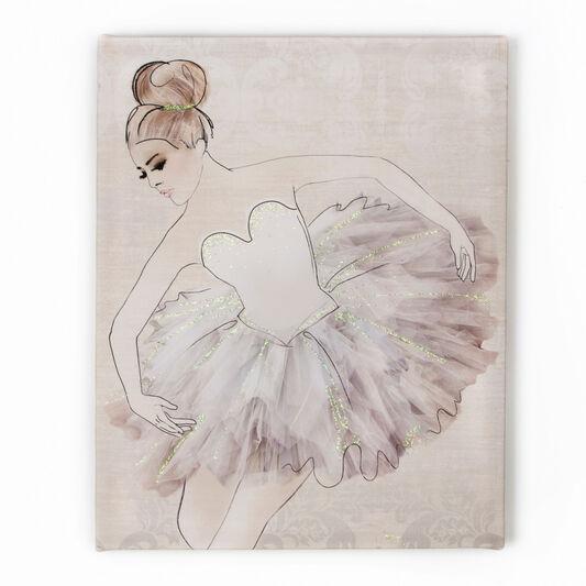 Classic Ballerina Printed Canvas, , large