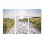 Beach Walk Printed Canvas, , large