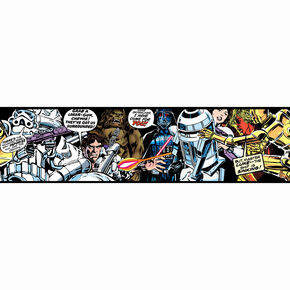 Star Wars Cartoon Border, , large