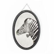Bedruckte Leinwand mit Ziggy Zebra, , large