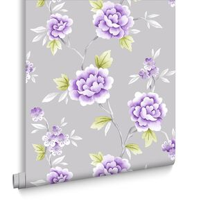 Chinese Blossom Grey und Purple, , large