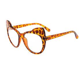 Tortoise Shell Cat Ears Eyewear,