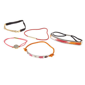 5-Pack Assorted Stretch Bracelets,