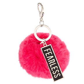 Save the Ta-tas Fearless Keychain,