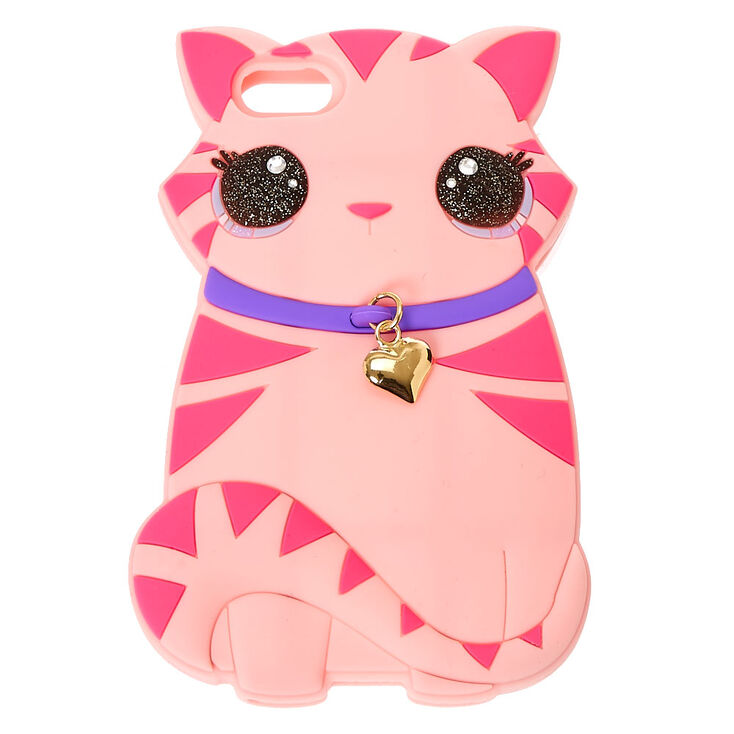 Pink Emma The Cat Phone Case Claire S Us
