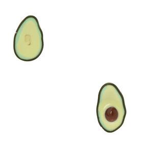 Mismatch Avocado Stud Earrings,