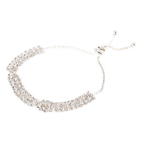 Twisted Crystal Chain Bracelet,