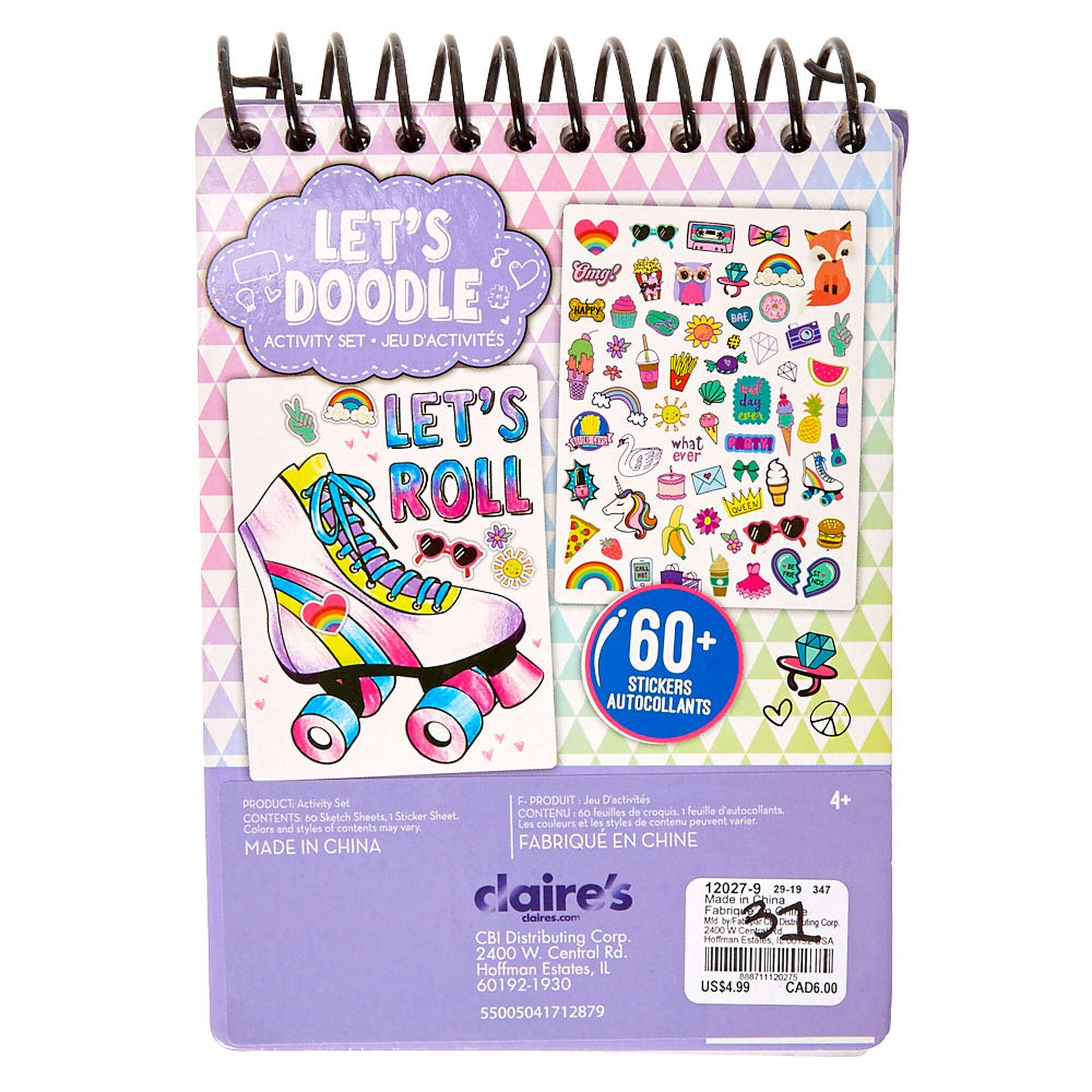 Let39s Doodle Coloring Book Activity