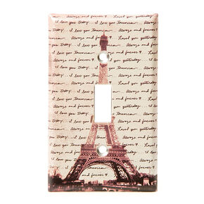 Love in Paris Switch Plate,