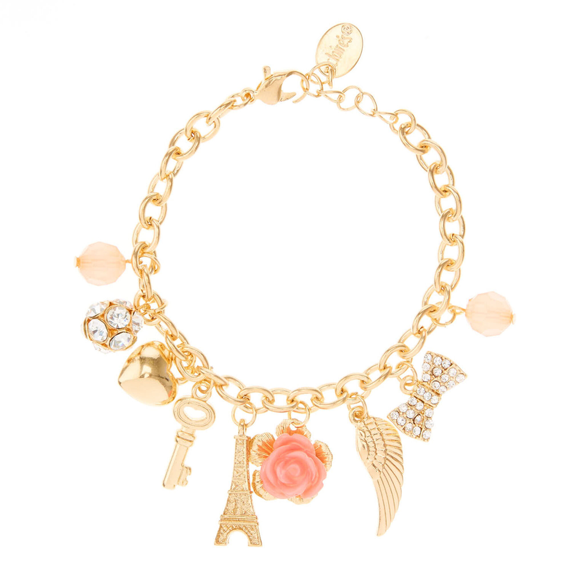 Pretty Paris Themed Bracelet