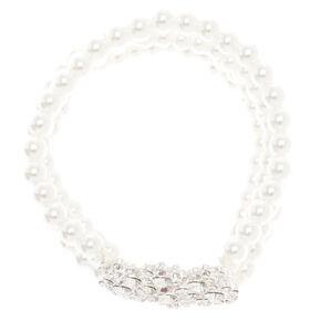 Seraphina Faux Pearl Bracelet,