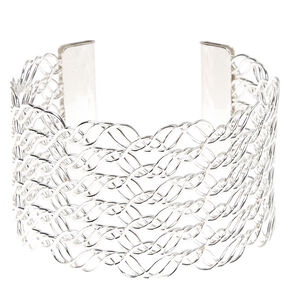 Wave Wire Cuff Bracelet,