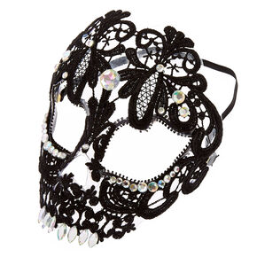 Skeleton Lace Mask,