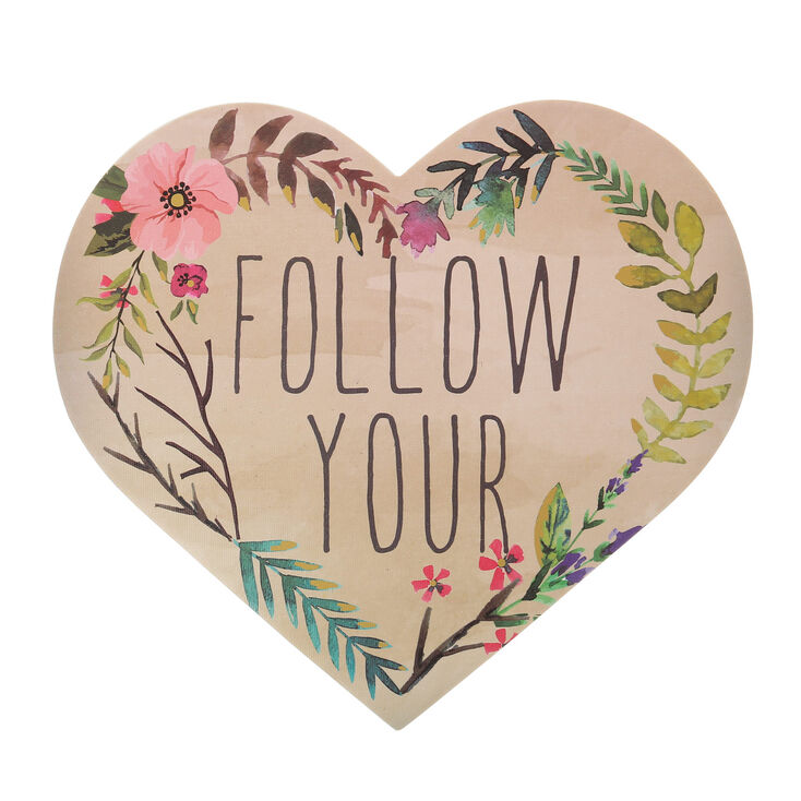 Follow Your Heart Wall Art,
