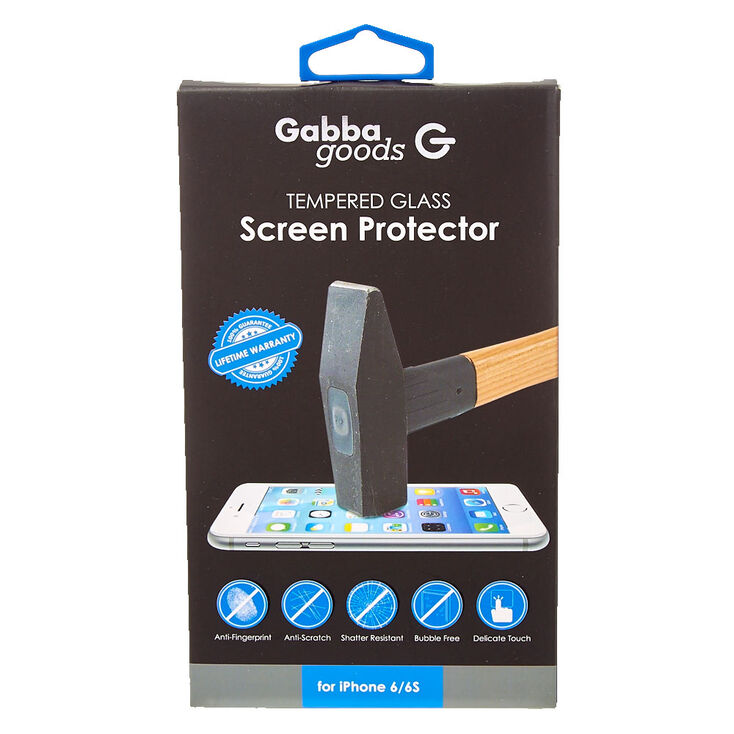 Gabba goods Clear Tempered Glass Screen Protector,