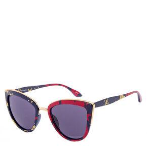Stars and Stripes Cat Eye Sunglasses,