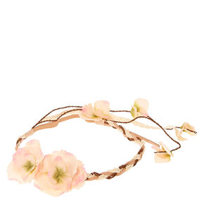 Vintage Nude Flower Headwrap,
