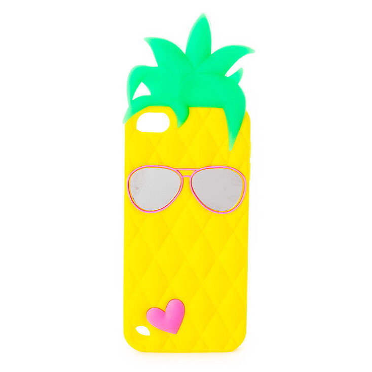 Silicone Pineapple Phone Case,