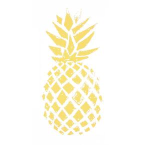 Pineapple Laptop Decal,