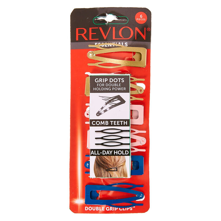 Revlon Romance Grip Dot Hair Clips,
