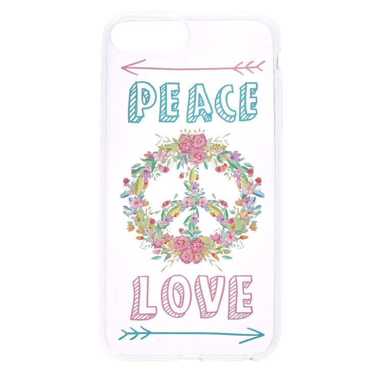 Peace and Love Phone Case,