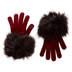 Bridgette Faux Fur Gloves,