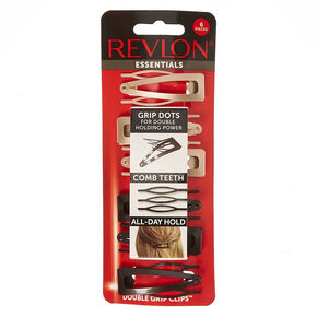 Revlon Essentials Neutral Grip Clips,