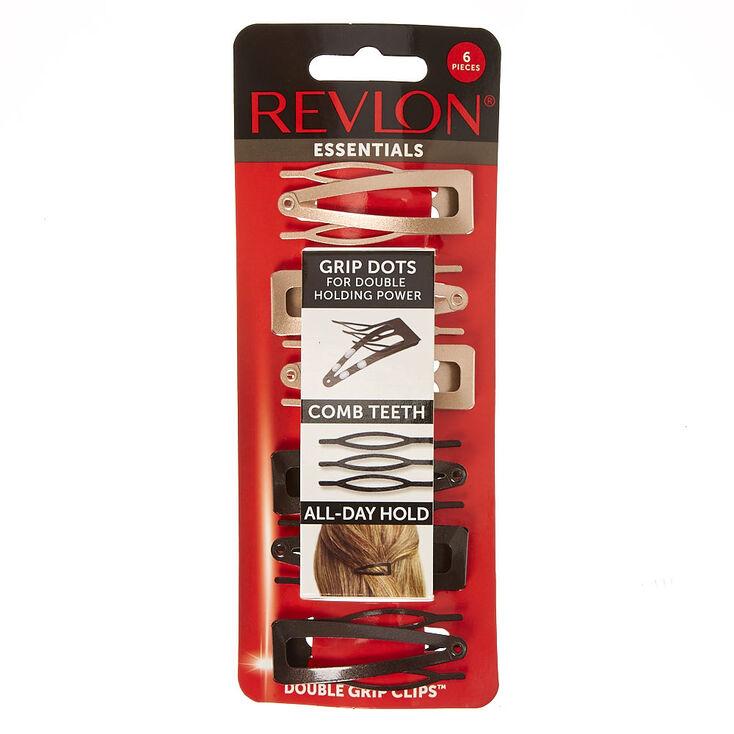 Revlon Essentials Neutral Grip Clips,