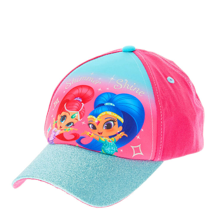 Pink & Blue Shimmer & Shine Cap