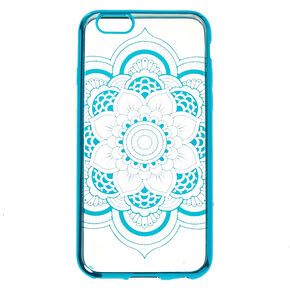 Metallic Blue Phone Case,