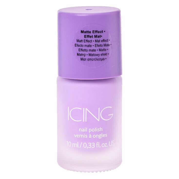 Sorbet Purple Matte Nail Polish,