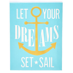 Your Dreams Set Sail Wall Art,