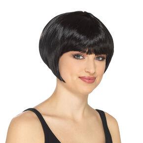 Black Flapper Wig,