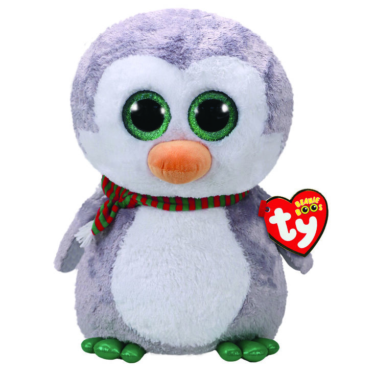TY Beanie Boo Chilly the Penguin Large Plush Toy,