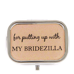 Thank You - Bridesmaid Pill Box,